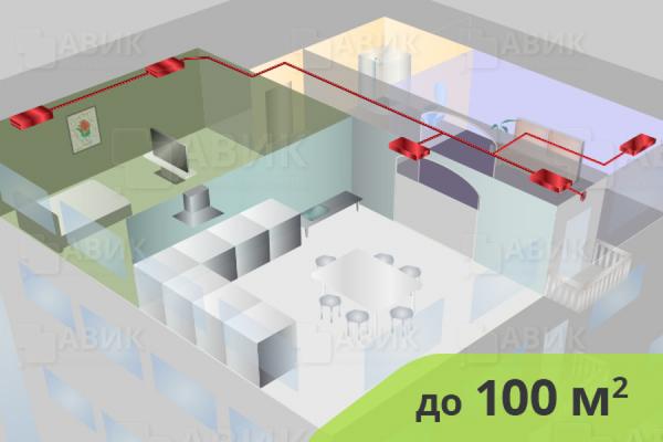 Приточная вентиляция в квартире 100 м2